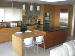 modern style kitchen island and cabinets thumbnail