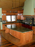 second view of large kitchen island thumbnail