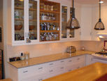 kitchen cabinets with glass doors thumbnail