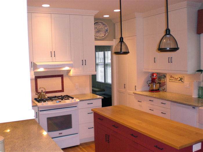 custom kitchen, different view